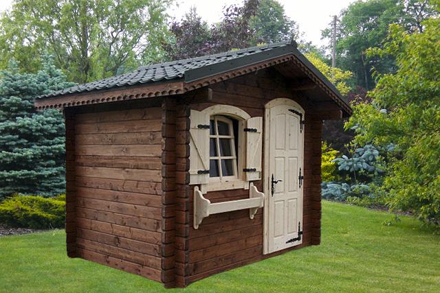 Dom z bali drewnianychpłazów o przekroju od 44mm do 240mm
