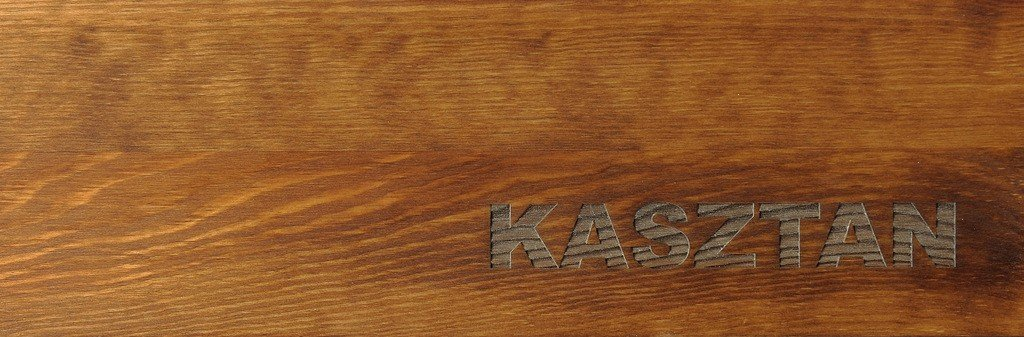 kasztan - kolor mebli woskowanych